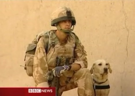 L Cpl Kenneth Rowe & Sasha